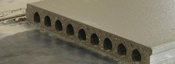 rebabas placas de hormigón